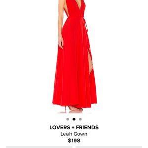 Lovers Friends Dresses Lovers Friends Leah Gown Poshmark